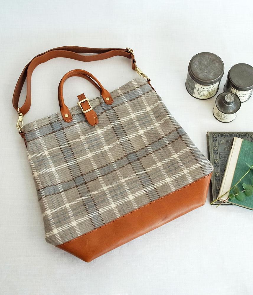 Linen First Bag【Blue】 / リネンファーストバッグ【ブルー】
