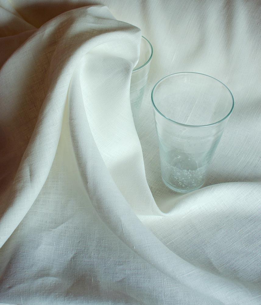 Linen Fabric【Lina White】 / リネンファブリック【リナ ホワイト】