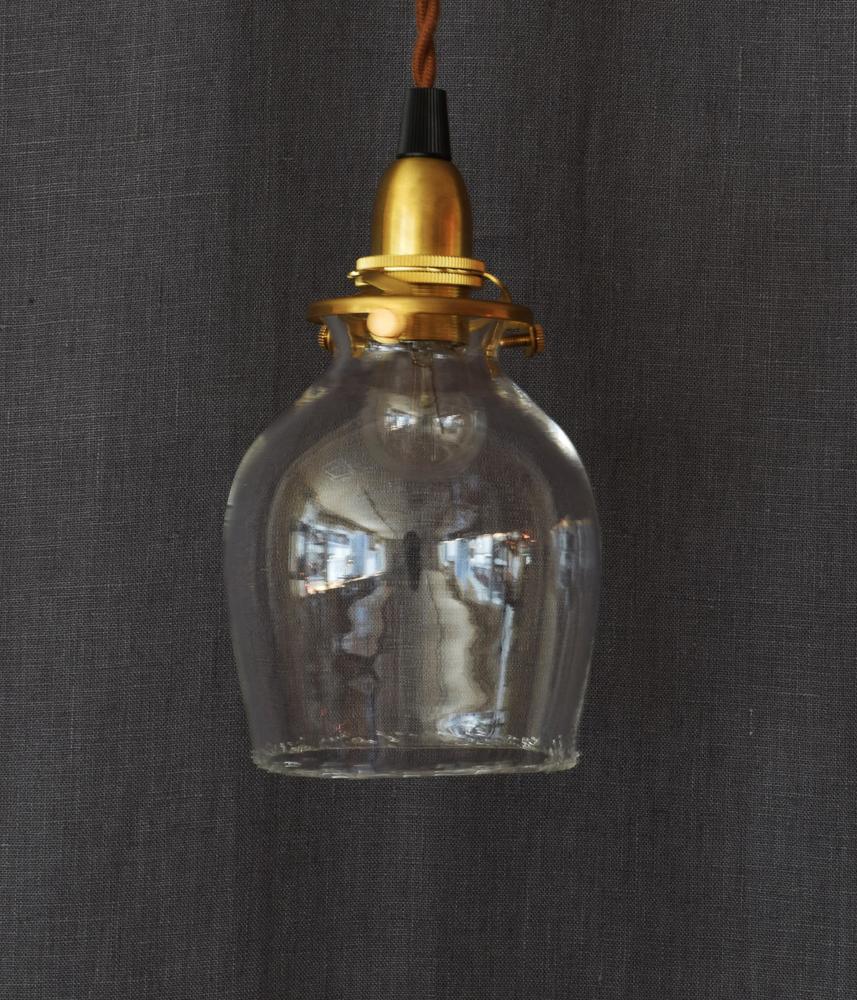 Glass Lamp Shade【Salty】 / ハンドメイドガラスシェード 【ソルティ 】