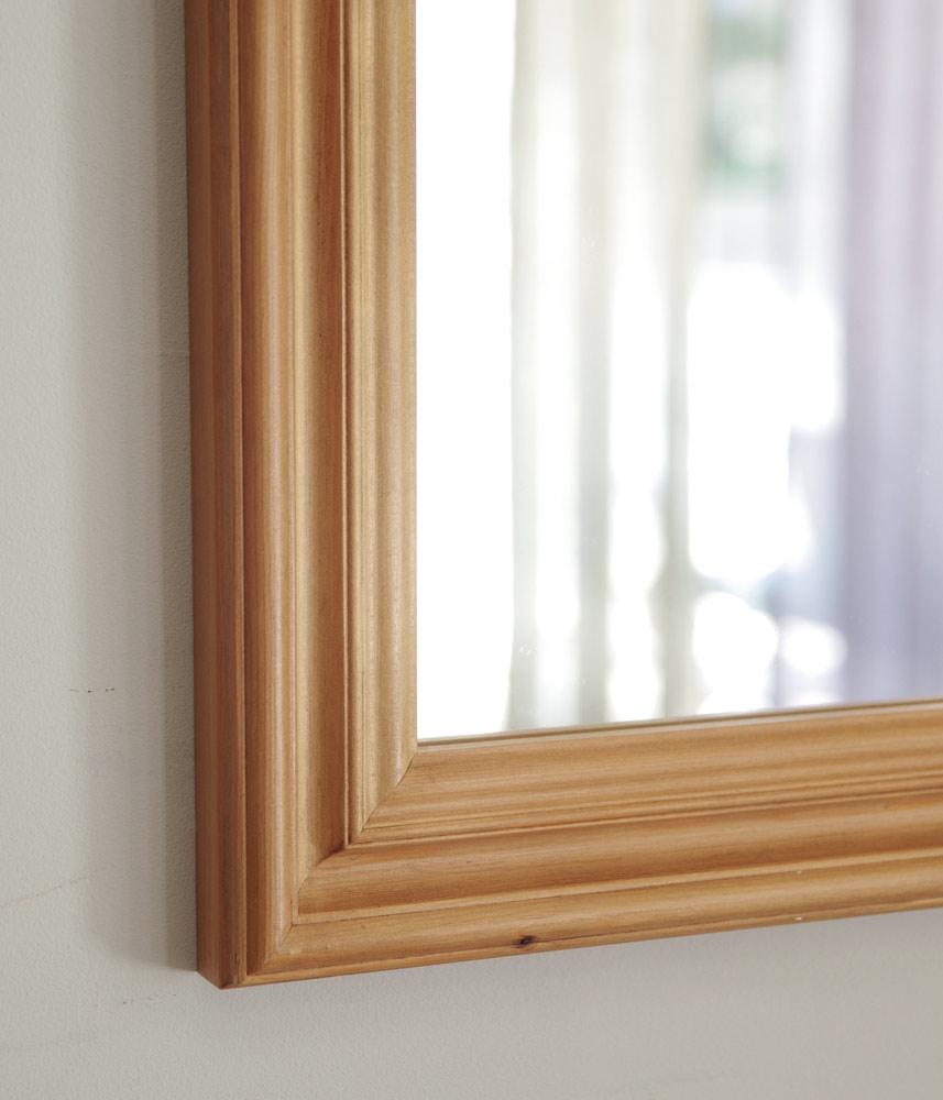 PC-PWMM Pine Mirror (M) / オリジナルパインミラーM 58cmx78cm