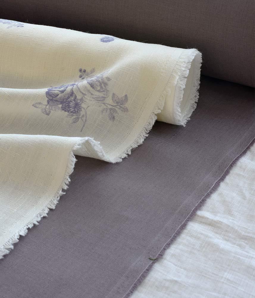 Linen Fabric 【Lina Plum】 / リネンファブリック【リナ プラム 】