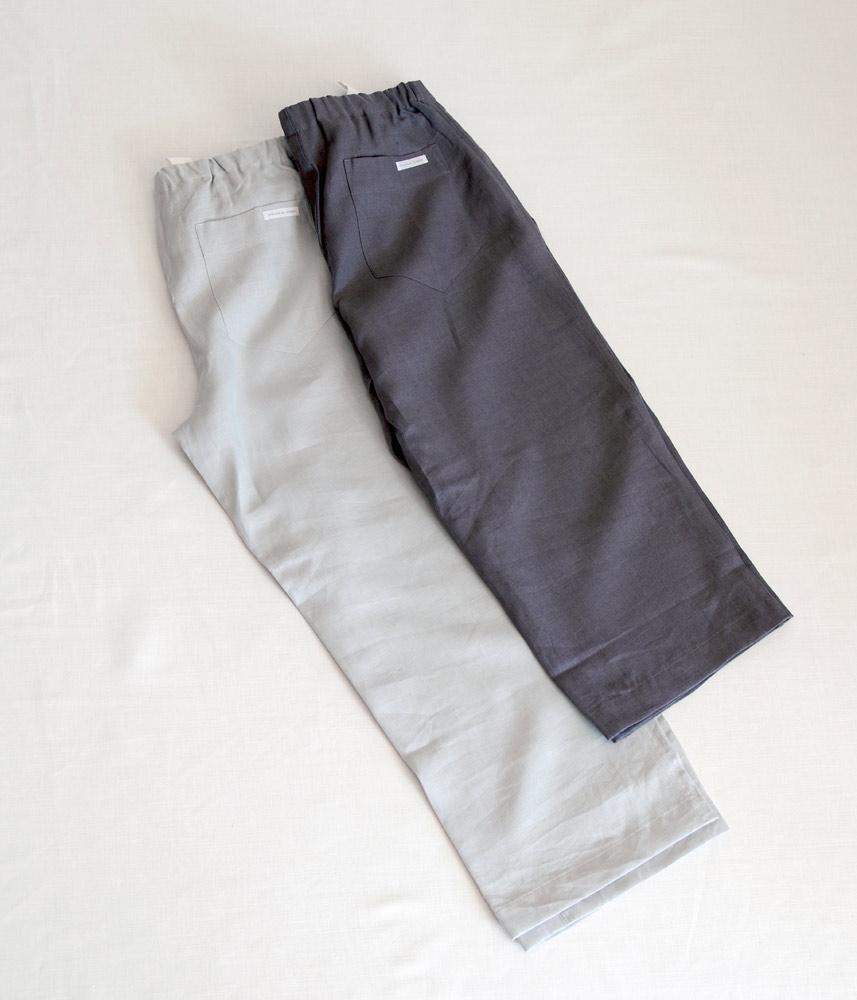 Room Pants Short【Charcoal Gray】 / ルームパンツショート【チャコールグレー】