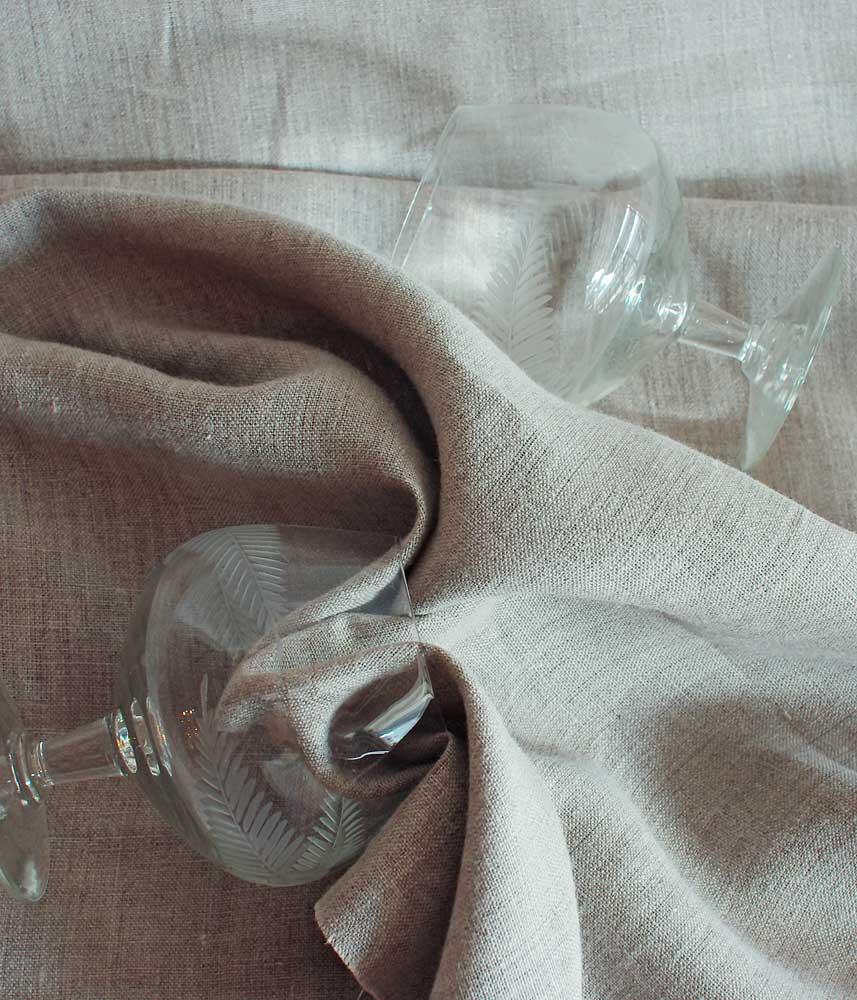 Linen Fabric 【Lina Natural】 / リネンファブリック【リナ ナチュラル】