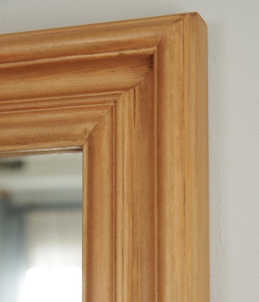 Pine Mirror S size / オリジナルパインミラーS 48cm×58cm