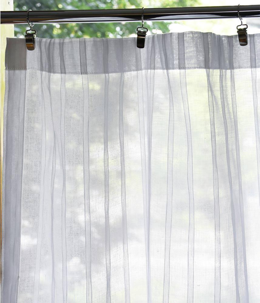Cafe Curtain【Muslin Tuktuku White】 / カフェカーテン【モスリン ツクツクホワイト】