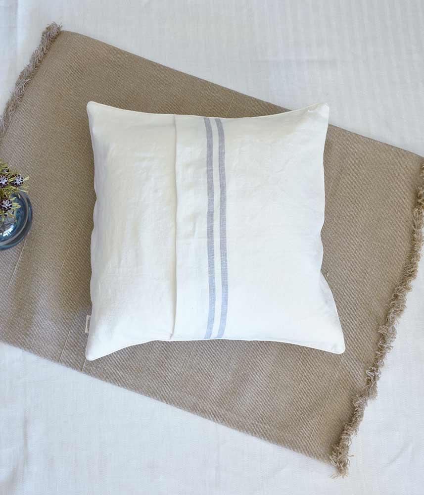 Linen Cushion Cover【Marine 6】 / リネンクッションカバー【リナマリン6】