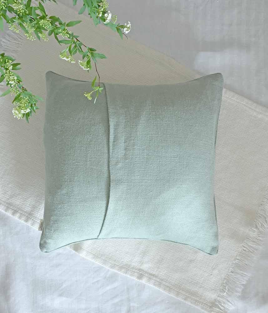 Linen Cushion Cover【Mist】 / リネンクッションカバー【ミスト】