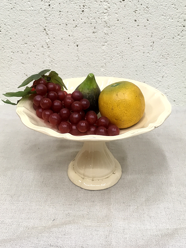 KG191d Antique pottery compote / KG191d アンティークポタリーコンポート