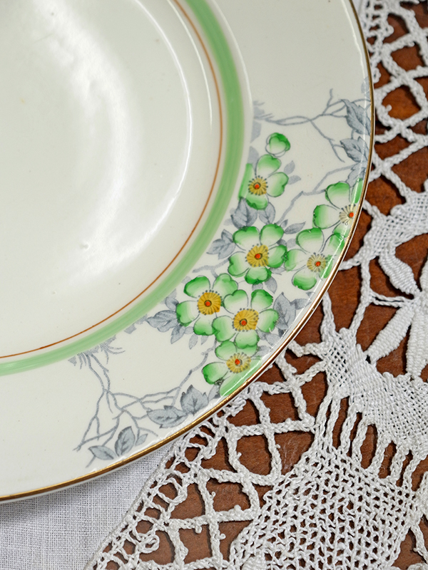 KG156 Antique plate / KG156 アンティークプレート