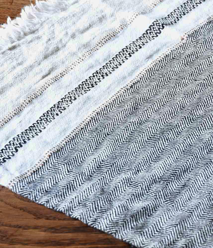 LIBECO LINEN CLOTH【BEES WAX STRIPE】 / リベコ リネンクロス【ビーズワックストライプ】