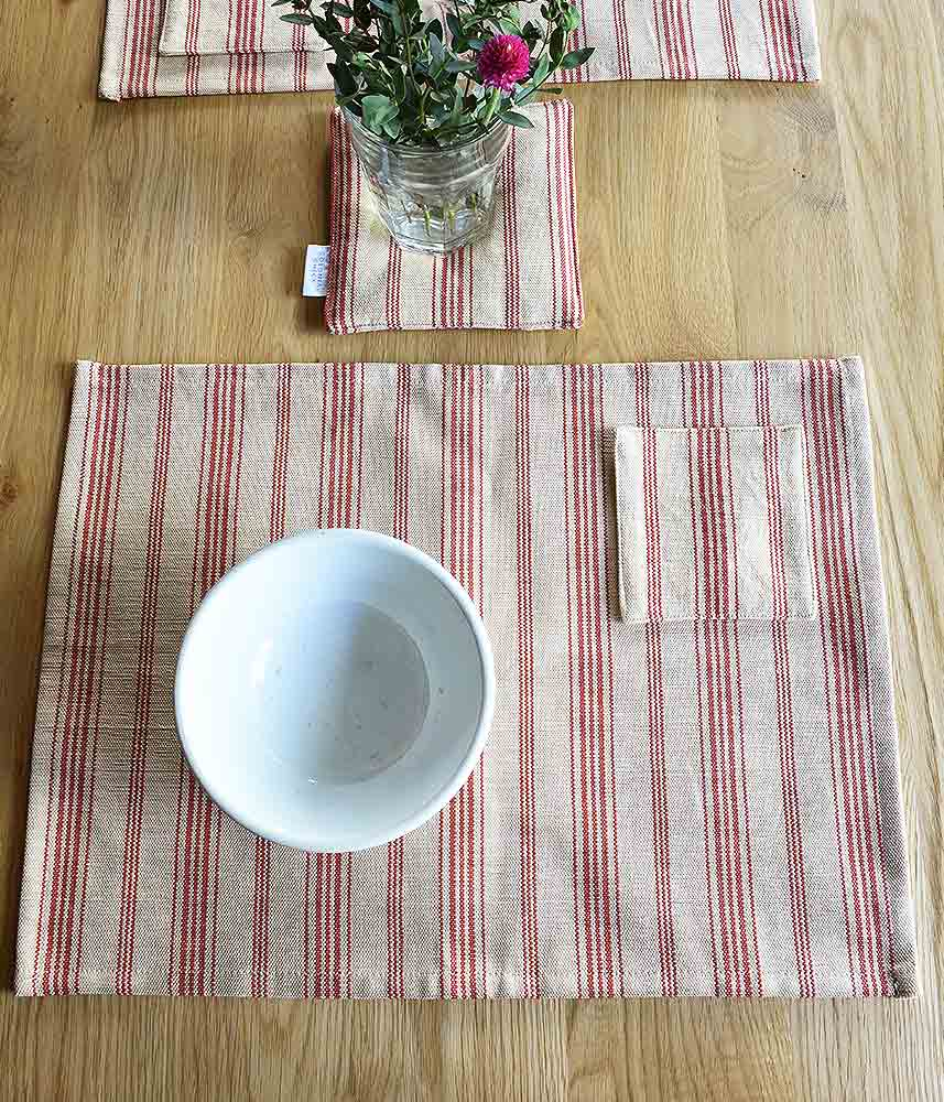 Cotton Place Mat 【Patry4】 / コットン プレイスマット【Patry4】