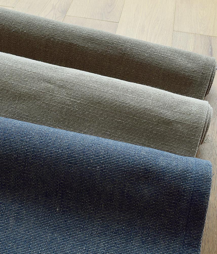 LIBECO Plane Linen Rug 【L】 / リベコ リネン ラグマット 【Lサイズ】